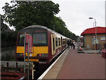 NS3881 : Platform at Balloch station by Trevor Littlewood