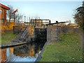 SJ8898 : Lock 14, Ashton Canal by David Dixon