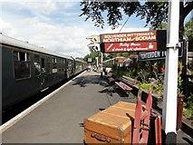TQ8833 : Tenterden, Kent & East Sussex Railway by Helmut Zozmann