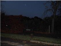 TQ1560 : Twilight over Furze Field, Oxshott by David Howard