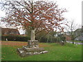 SK6826 : The village cross, Upper Broughton by Jonathan Thacker