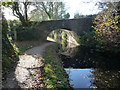 SO3003 : Bridge 63 on the Monmouthshire & Brecon Canal by Jeremy Bolwell