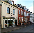 SO7225 : Cake shop and a bank, Newent by Jaggery