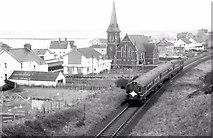 "C7636 : ""80"" class railcars, Castlerock (1980) by Albert Bridge"