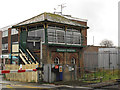 TQ5804 : Polegate Crossing signal box by Stephen Craven