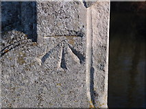 SP7006 : Benchmark on Thame bridge by Michael Trolove