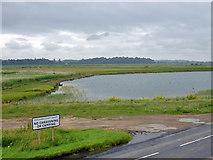 TQ9014 : Lake on Pett Level by Robin Webster