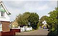 SZ5785 : Site of Alvestone station, 2004 by Ben Brooksbank