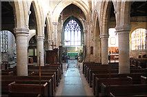 TF2935 : Interior, Ss Peter & Paul church, Algarkirk by J.Hannan-Briggs