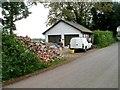 SO4210 : Roadside building rubble, Coed-Cefn by Jaggery