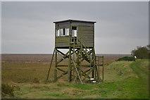 TM0308 : RAF Bradwell Bay Observation Tower by Arthur Stevens