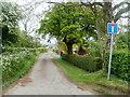 SO4208 : Western end of Cuckoo's Row, Raglan by Jaggery