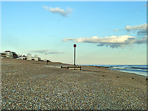 TQ7306 : Beach outfall, Bexhill by Robin Webster
