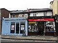 TQ1470 : Two shops, High Street, Hampton by nick macneill