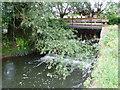 SP1258 : Water mill sluice gates by Nigel Mykura