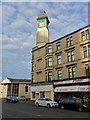 NS4862 : Clock tower on Stock Street by Lairich Rig
