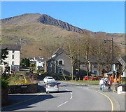 SH5848 : A mountain view from Beddgelert by Jaggery