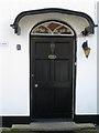 SX8673 : Front door of The Grange, 1 Broadway Road by Robin Stott