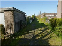 NS4174 : Path near Second Avenue by Lairich Rig