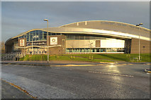 SJ8798 : The National Cycling Centre, Manchester by David Dixon