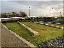 SJ8798 : Velopark Bridge by David Dixon