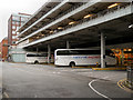 SJ8497 : Manchester Central Coach Station by David Dixon