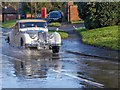 SP2755 : Floods on Ettington Road by David P Howard