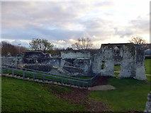 TQ4109 : Ruins of Lewes Priory by PAUL FARMER
