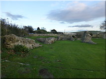 TQ4109 : Ruins of the Great Church at Lewes Priory by PAUL FARMER