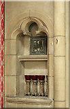 TQ1472 : All Saints, Campbell Road - Piscina by John Salmon