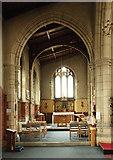 TQ1472 : All Saints, Campbell Road - North chapel by John Salmon