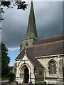 SO8505 : St Laurence's church, Stroud by Dave Kelly