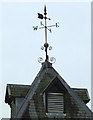 SD3483 : Weather vane on the Clock Tower, Low Wood by Karl and Ali