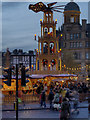SJ8398 : Manchester Christmas Markets, Exchange Square by David Dixon