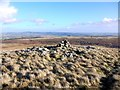 NT9820 : Eastern cairn, Dod Hill by Andrew Curtis