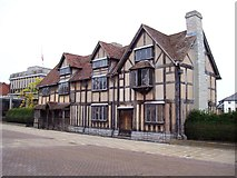 SP2055 : William Shakespeare's Birthplace by Len Williams