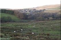 SD6715 : Lower slopes of Winter Hill by Philip Platt