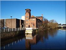 SK3536 : Derby - Lombes Mill by David Hallam-Jones