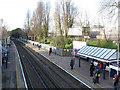 TQ1978 : Kew Bridge station, Up platform by Stephen Craven