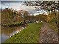 SJ9689 : Peak Forest Canal at Marple by David Dixon
