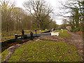 SJ9589 : Peak Forest Canal, Lock#2 by David Dixon