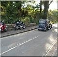 SO7679 : Interwar car at Arley by Jaggery