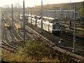 SD8500 : Metrolink Sidings, Queen's Road by David Dixon