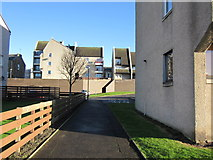 NS3421 : Strathayr Place, Ayr by Billy McCrorie