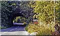 SE0188 : Near site of Aysgarth station, 1991 by Ben Brooksbank