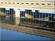 SK0722 : Blithfield Reservoir water take off point by Peter Fleming