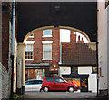 SK7953 : Castlegate from Swan & Salmon Yard by Richard Croft