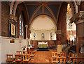 TQ2176 : St Michael & All Angels, Barnes - North chapel by John Salmon
