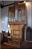 TQ9245 : Organ, St Nicholas' church, Pluckley by Julian P Guffogg