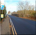 ST1369 : South side of Palmerston Road railway bridge, Barry by Jaggery